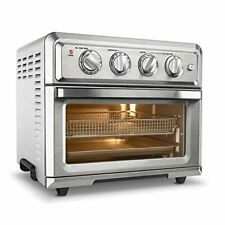 Cuisinart Broilers Air Fryer Toaster Oven with Light - Silver