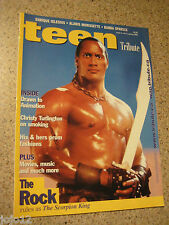 RARE! Canada Magazine 2002 THE ROCK rules as The Scorpion King Dwayne Johnson