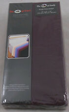 Purple Fitted Sheets Single Size Pack of 2