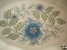 "Wedgwood Clementine Oval Dish Tray Bone China Made in England 4.5"" x 3"""
