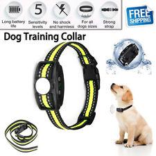 Antibell Hundetrainer Wasserdicht Erziehungshalsband Ton Vibration Hunde Collar