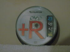 25 x Fujifilm 120 min dischi DVD + R