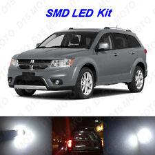 9 x White LED interior Bulbs + Reverse + Tag Lights for 2009-2016 Dodge Journey
