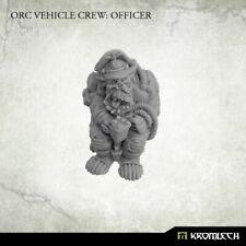 ORKS orc vehicle crew officer 40K NEW Kromlech
