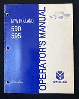 New Holland Operator's Manual 590, 595 Baler *1873