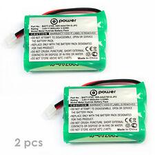 2 x battery 3.6V MOTOROLA MBP33 MBP33S MBP36S MBP-33S MBP-36S MBP33P MBP35 MBP35
