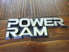 Dodge Power Ram Fender Emblems