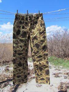 REDHEAD BONE DRY 32 X 32 pants camo brown beige khaki rubberized cotton rugged