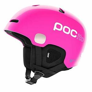 POC Kid's POCito Auric Cut Spin Helmet for Skiing and Snowboarding Fluorescen...