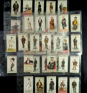 Vanity Fair ( 1st Series ) Cigarette Cards by WD & HO Wills 1902 Pick Your Card
