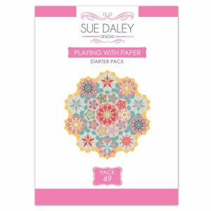 SUE DALEY Playing with Paper pack #49 - pattern, papers & templates