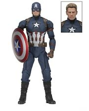 Captain America: Civil War - 1/4 Scale Figure - Captain America - NECA