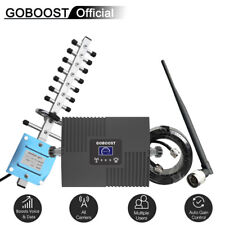 GOBOOST Cell Phone Signal Booster 4G LTE 1700MHz B4 Repeater For AT&T Verizon