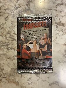 TNA Impact 2008 Tristar Wrestling Trading Cards, Sealed Packs, GFW