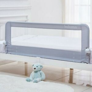 Baby Toddler Bed Rail 59 inch Guard Extra Long Foldable Safety Bedrail