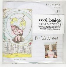 (GN800) The Zillions, Step Into The Sun - 2004 DJ CD