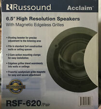 """New listing Russound 6.5 """" High Res Speaker Pair"""