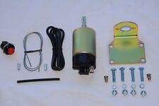 Universal Power Trunk Release Kit street rod car truck 50# solenoid push button