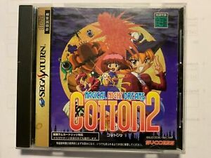 Cotton 2 Magical Night Dreams Sega Saturn Japan Import North American Seller