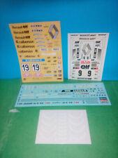 DECALS X KIT AUTO RALLY  GT TAMIYA HASEGAWA ESCI 1/24 25