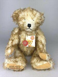 "Hermann Teddy Original Ltd Edition Mohair Teddy Bear - ""Nasewels"""