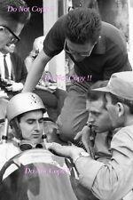 Lorenzo Bandini Ferrari 156 Sharknose Italian Grand Prix 1962 Photograph