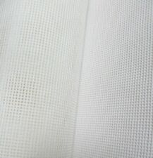 White 14 Count Zweigart Interlock Mono Tapestry Canvas  - various size options