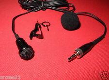 New Lapel Lavalier Microphone Mic For Sennheiser G1 G2 G3 Wireless Belt pack