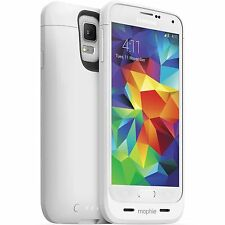 Mophie Juice Pack Rechargeable Battery Case for Samsung Galaxy S5 - WHITE