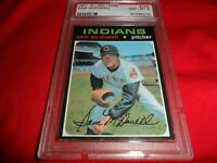 1971 OPC O-pee-chee Topps #150 Sam McDowell CLEVELAND Indians NM MINT PSA 8