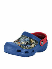 Crocs Superman Clogs in Blue / Red Size 4-5 Younger