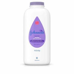 JOHNSON'S Baby Powder Calming Lavender 15 oz (Pack of 6)