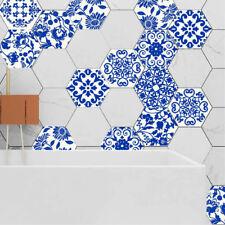 10 PCS PORCELAIN SELF-ADHESIVE NON-SLIP BATHROOM KITCHEN FLOOR WALL TILE STICKER