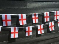St George England Fabric Bunting various lengths wholesale free 1st class post