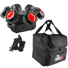 Chauvet DJ Helicopter Q6 Rotating Stage Lighting Effect + Carry Case + O-Clamp