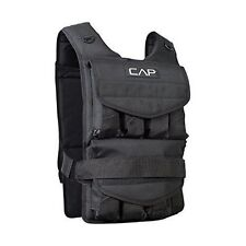 Adult Weighted Vest Adjustable Weight Chest CAP Barbell Men Women Cardio 40 lbs