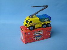 MATCHBOX AIRPORT FIRE due ruote camion giocattolo Fair 2002 IN SCATOLA RARO lunghi 75mm