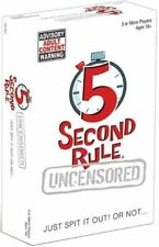 PlayMonster 5 Second Rule Uncensored Adult Card Game