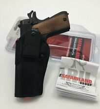 Safariland 27 IWB Suede Lined Adjustable Cant Holster 1911 FULL SIZE - Left Hand
