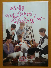 "SHINee Baskin Robbins Photo Book KPOP SHINEE Limited Edition Rare (6.6""x9.4"")"
