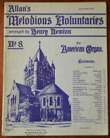 Allan S Melodious Voluntaries Für American Orgel No.8 Arranged Von Henry Newton
