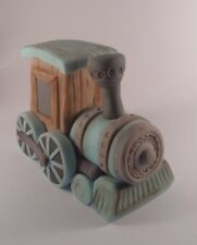 Train cake topper Handmade edible Christening birthday  any occasion decoration