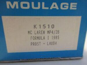 PROVENCE MOULAGE 1/43 MCLAREN MP4/2B F1 1985 PROST LAUDA KIT K1510