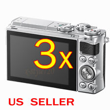 3x Nikon 1 J4 J5 V3 Digital Camera Clear LCD Screen Protector Guard Cover Shield