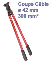600 mm Pince coupe-câble usage intensif
