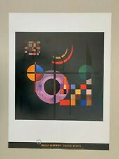 KANDINSKY,'COUNTER WEIGHTS,1926' RARE AUTHENTIC 1991 ART PRINT