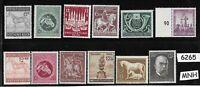 #6265     MNH Germany Mixed Postage stamp set Adolph Hitler Third Reich era