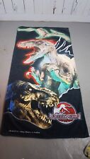 Jurassic Park 3 Beach Towel Graphic Towel Dinosaurs T-rex 2001 100% cotton