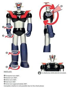 -=] SD TOYS - Mazinga Mazinger Z with lights Action Figure 30cm. [=- DISPONIBILE