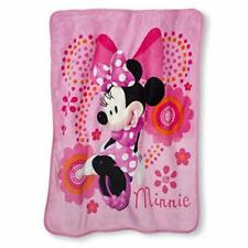 Minnie Mouse Silk Touch Throw and Canvas Tote - Gift set